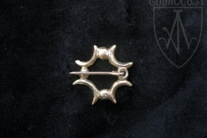 Four crescents Badge 12-13th centuries