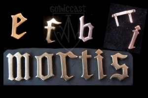 Latin letters mounts 14-15th century