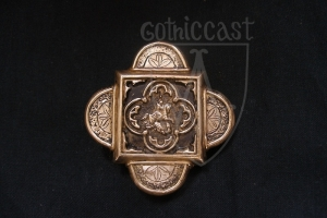 Buckle for Knight Belt with figure of St. George