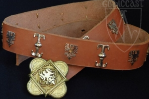St Georges'  Knight Belt 1360-1430 A.D.