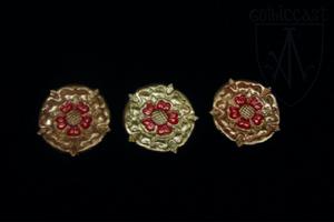 Rose mounts for belt 1360-1500 A.D.
