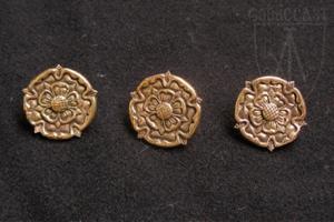 """Belt mount """"Rose"""" 1360-1500 A.D."""