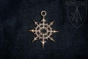Chaos star pendant