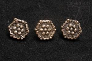 Small Roses Belt mounts 1340-1500 A.D.