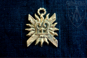 Dukes of Burgundy Badge, 14-15th centuries