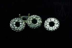 Eyelet Belt mounts 1300-1500 A.D.