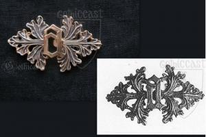 """""""A"""" Clasp, medieval replica"""