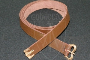 Brown medieval belt 14-15 centuries