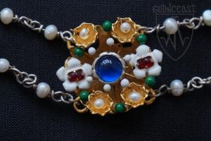 Cleveland necklace medallion 3