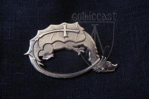 Dragon Badge 14-15 th century