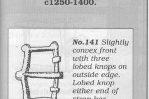 Eight hills buckle 1300-1500 A.D.