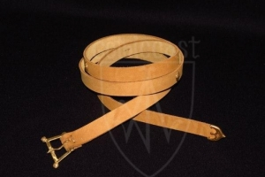 Flemish medieval belt with mounts
