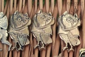 "Medieval badge ""Owl"""