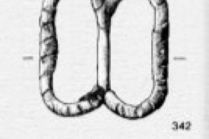 Medieval belt (black) 1300-1500