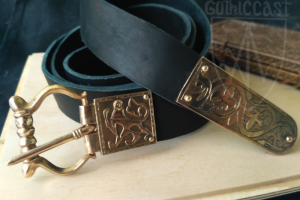 Medieval belt set Lion belt