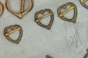 """Medieval brooch """"Heart"""" 1300-1500"""