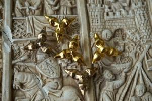 Trefoil medieval plaque 1300-1500