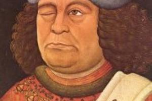 Portrait of Oswald von Walkenstein 1432