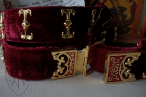 Vytautas nobleman girdle 1340-1430 detail
