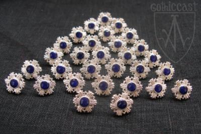 Medium Sweden Buttons, 13-16 c