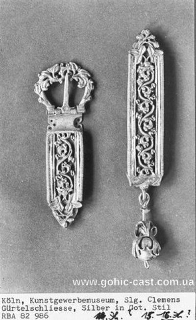 Medieval girdle 15th century