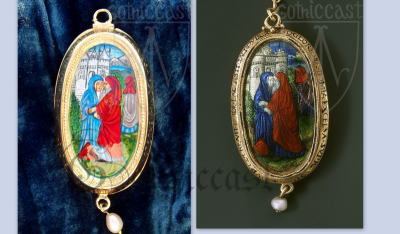 Paternoster Pendant with the Virgin and Child