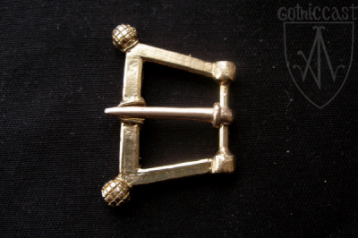 Acorns Buckle 1300 AD - 1500 AD