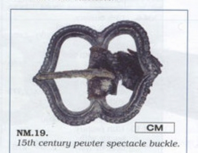 Merchant Buckle 14-15 c. Western Europe