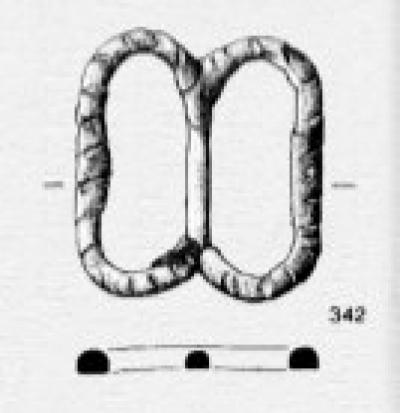 Buckle 14-15 c. Western Europe