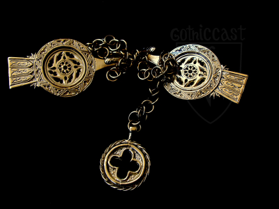 Medieval chain girdle 14-15th century