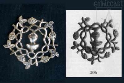 Braiding Branches Badge 14-15th century