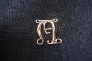 """A"" badge 13-15th century"