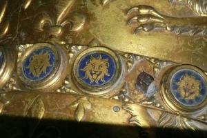"Knight plaque ""Lion"" 1360-1420"