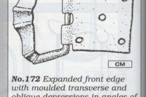 Four edge double-loop buckle 1300-1500 A.D.