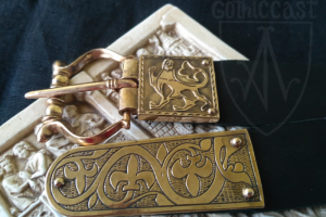 Medieval belt set 'Lion' 1200-1430