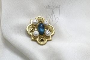 Medieval brooch Castelnaud 1450-1520