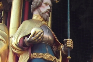 Medieval cloak fastener Nuremberg 1340-1500