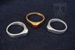Medieval Ring with small stone