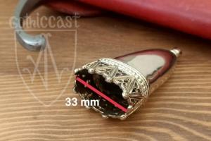 Scabbard chape 1300-1500