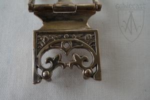 Vytautas_belt_set_1340-1420_buckle_detail