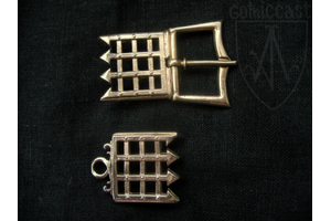 Swiss Medieval buckle late 1400