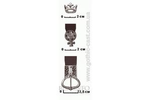 Crown Belt mounts 1360-1500 A.D.