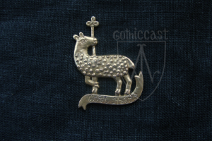 Lamb Badge 14 -15 centuries. Medieval Europe