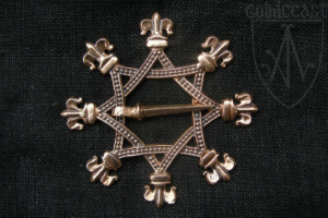 Octagonal brooch 14-15th century