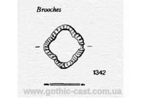 Quatrefoil Brooch / Fibula, 13-15 с Western Europe