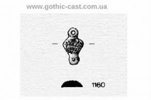 Glandem petasum belt mounts 1360-1500 A.D.